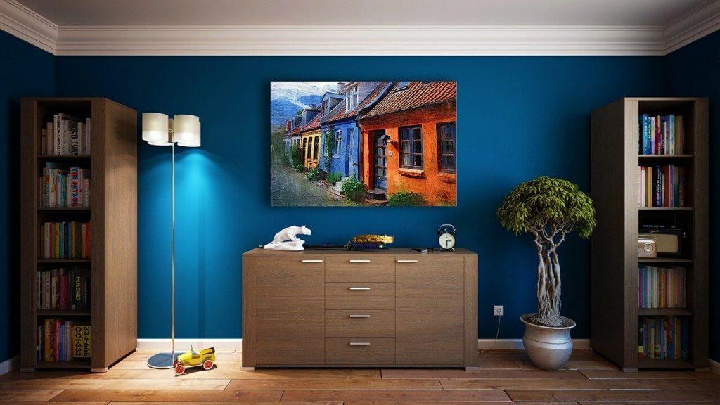 kleur in huis halen